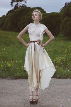 Mera (dress KUCHERENKO) Fashion project by Anastasia Talaiko, via Behance