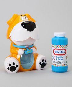 Love this Orange Dog Bubble Bellie Set by Little Tikes on #zulily! #zulilyfinds