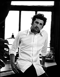 Black and White makes things ten times better. Mr. McDreamy