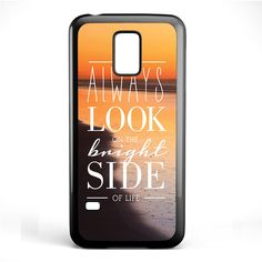 Always Look The Bright Side TATUM-678 Samsung Phonecase Cover Samsung Galaxy S3 Mini Galaxy S4 Mini Galaxy S5 Mini