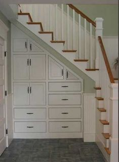 Awesome Cool Ideas To Make Storage Under Stairs 5