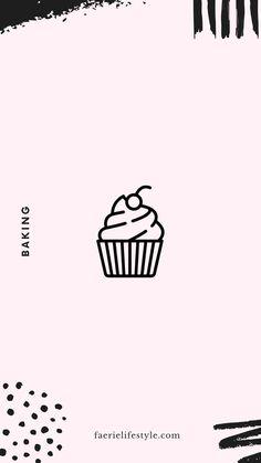 Sketch Instagram, Cooking Icon, Cute Baking, Bullet Journal Inspo, Instagram Story Template, Kpop, Instagram Highlight Icons, Story Highlights, Insta Story