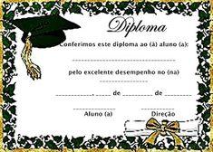ESPAÇO EDUCAR: Modelos de Diploma para a Educação infantil! Chef Pictures, Letters For Kids, Preschool Graduation, Borders For Paper, Deep Learning, Math Worksheets, Aesthetic Art, Certificate, Clip Art