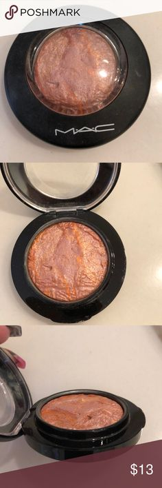 """MAC mineralize blush Color is """"Uplifting"""", product is used, still has a lot of life left. Product is authentic, price reflects the fact that it's used and I'd like it to go to someone who will use it instead of sitting in my makeup collection. MAC Cosmetics Makeup Blush"""