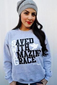 such a cute sweatshirt.