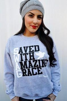 such a cute sweatshirt.