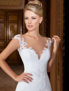 Gardênia 26 - frente (detalhe) #coleçãogardenia #vestidosdenoiva #noiva #weddingdress #bride #bridal #casamento #modanoiva