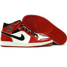 Air Jordan 1 Red black white ~ sweet treads! b6559b7db