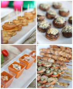 Christmas Party Idea - Trimmings & Tapas Party by PartiesforPennies.com: