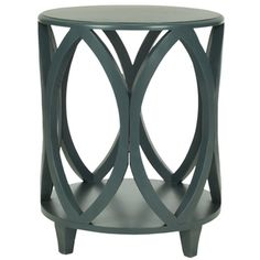 @Overstock - With its stylish modern geometric shape crafted of pine in dark teal finish, the Janika accent table brings chic, organic style to any room.http://www.overstock.com/Home-Garden/Safavieh-Janika-Dark-Teal-Accent-Table/7827821/product.html?CID=214117 $169.99