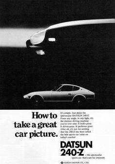 1972 / Datsun 240Z / Ads