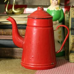 Teapot Red now featured on Fab.
