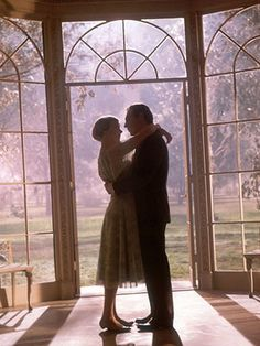 """25 Most Romantic Movie Quotes Captain von Trapp (Christopher Plummer): """"Maria, there isn't going to be any Baroness anymore."""" Maria (Julie Andrews): """"I don't understand."""" Captain von Trapp: """"Well, we called off our engagement, you see, and…"""" Maria Christopher Plummer, Julie Andrews, Sound Of Music, Movies Showing, Movies And Tv Shows, Simon And Garfunkel, I Look To You, Romantic Movie Quotes, Cinema"""