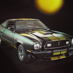 1977 Ford Mustang Cobra.