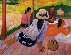 La Siesta - (Paul Gauguin)