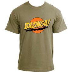 THE BIG BANG THEORY INSPIRED 'BAZINGA' PERIODIC TABLE LADIES SKINNY T-SHIRT