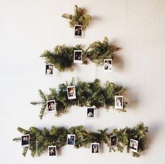 60 Minimalist Christmas Decoration On A Budget. Some of the most creative and unique christmas tree decorating ideas are actually the ones that are the cheapest. Don't think for a minute that decora. Unique Christmas Trees, Winter Christmas, All Things Christmas, Christmas Holidays, Minimalist Christmas Tree, Xmas Tree, Christmas Christmas, Christmas Tree On Wall, Alternative Christmas Tree