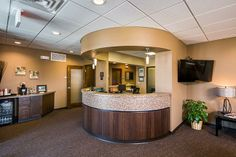 Dental technology Dental Reception Lobby Dentist office design Dr. Rubel