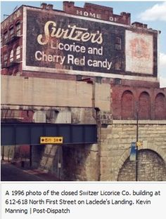 Switzer's- the best licorce! We miss you!