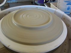 DirtKicker PoTTerY: Wheel Thrown Slab Hump Mold Plates.  As a handbuilder who can't throw, this technique works wonders!! Made the best pedestal bowl ever.