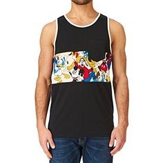 Buy Vans, Vans Shop, Vans Disney, Vans Men, Vest, Mens Fashion, Amazon, Tank Tops, Cotton