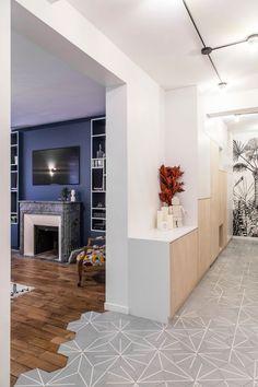 Appartement Batignolles : 100 m2 déco et bien pensés - Côté Maison