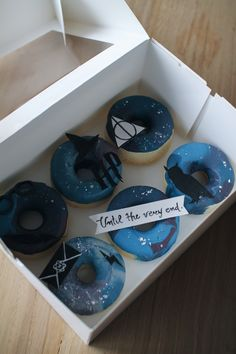 Harry potter donuts. #harrypotter #harrypotterforever