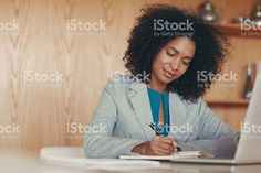 Her caliber of work is top notch royalty-free stock photo