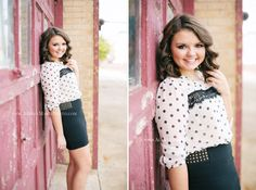 Senior Picture Ideas For Girls | Posted in Seniors. Love the location and the outfit.