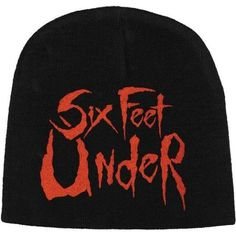 Six Feet Under - Logo Beanie Winter Hat Death Metal Music Band Official in Entertainment Memorabilia, Music Memorabilia, Other Music Memorabilia | eBay