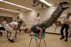 """SF State student actors rehearse for the musical """"Spring Awakening."""""""
