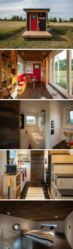 Greenmoxie: a 340 sq ft tiny house with an off-grid and eco-friendly design