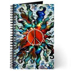 #Peace Sun (e) Journal on CafePress.com