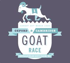 Oxford & Cambridge Goat race // Cookie / Made in England