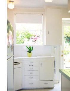 another pretty white kitchen