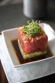 BLT tuna tartar