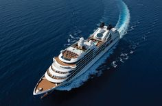 Step aboard any one of Seabourn's luxury cruise ships and you'll enjoy a sophisticated and luxurious journey like no other. Cruise Vacation, Cool Art, Journey, Boat, Ship, World, Water, Travel, Luxury