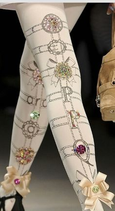 Fancy tights-luv!