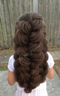 2 Simple Step-by-Step Guides to Braiding Your Hair Fancy Hairstyles, Creative Hairstyles, Little Girl Hairstyles, Braided Hairstyles, Wedding Hairstyles, Princess Hairstyles, Updo Hairstyle, Beautiful Braids, Gorgeous Hair