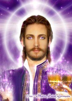 Master Saint German, Violet Flame / Brotherhood of light / Great White Brotherhood