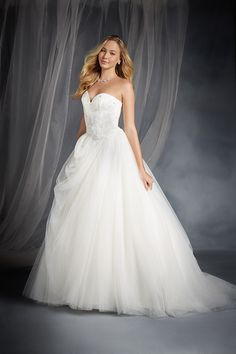 Sleeping Beauty Inspired Wedding Dress - Disney's Fairy Tale Weddings by Alfred Angelo Bridal Collection 2015