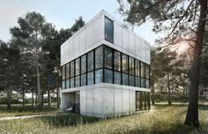 Villa am Meer: Dieser Würfel wird gefallen - SPIEGEL ONLINE - Stil
