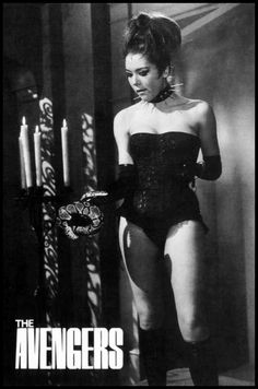 DIANA RIGG - (AKA - EMMA PEEL - THE HELL FIRE CLUB - THE AVENGERS TV SERIES)