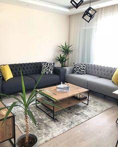 Bedroom Closet Design, Home Room Design, Home Design Decor, Living Room Grey, Home Living Room, Living Room Decor, Small Apartment Living, Small Living Rooms, Home Decor Hooks
