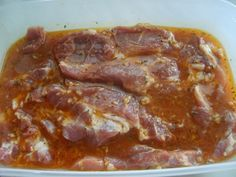 Pivová marináda na grilované mäsko No Salt Recipes, Pork Recipes, Cooking Recipes, Polish Recipes, Russian Recipes, What To Cook, Food 52, No Cook Meals, Pesto