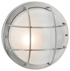 Hokku Designs Court 1 Light Outdoor Bulkhead Light & Reviews | Wayfair.co.uk