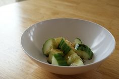Totally awesome sounding Shanghai Cucumbers (Cucumber Salad?) from @Brittany Gibbons