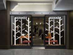 wandering forest / 視覚的な矛盾が起きる森 for Hermes