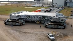 NASA's giant crawler transporters that carried the Apollo missions and the Space Shuttles to the launch pad are getting an overhaul.