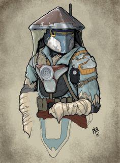 Hired gun. | Star Wars Artists Guild